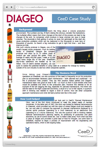 diageo plc financial analysis